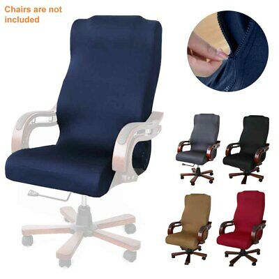 AU19.79 • Buy Modern Simplism Computer Seat Thickened Office Chair Cover Protective High Back