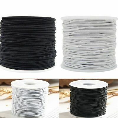 $ CDN12.75 • Buy 0.8mm 1.5mm Round Elastic Cord Cylindrical Core Spun Hat Sewing Accessories Core