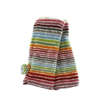 Pachamama 100% Wool Hoxton Stripe Handwarmers Fleece Lined • 15.95£