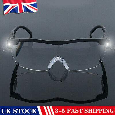 180% LED Magnifying Glasses Loupes Magnifier Glasses With Led Lighting Lamp NEW/ • 6.34£