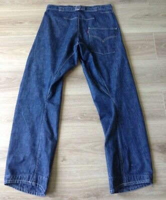 £75 • Buy Levi's Jeans Twisted / Engineered Cinch Back Red Tab Size 32 X 34 Vgc