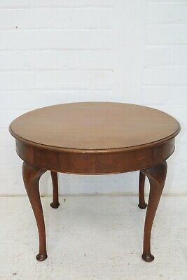 £45 • Buy Mahogany Circular Occasional Table On Cabriole Legs