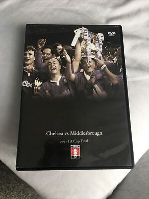 £9.99 • Buy FA Cup Final: 1997 - Chelsea Vs Middlesbrough (DVD 2005)