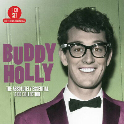 Buddy Holly : The Absolutely Essential Collection CD 3 Discs (2016) Great Value • 3.48£