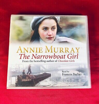 Annie Murray - The Narrowboat Girl: Read By Francis Barber (2006) 3 X CD • 5.95£