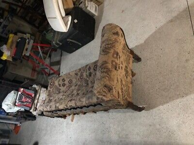 AU240 • Buy Antique Furniture Chairs Chaise Longue And Cane Chair