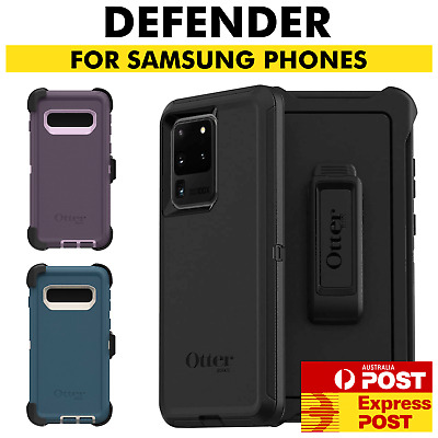 AU39.90 • Buy OtterBox Defender Case Samsung Galaxy S20 + Note 20 Ultra 5G S10 E S9 S8 S7 S6 5