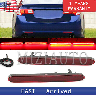 $28.76 • Buy Pair LED Rear Bumper Reflector Light For Acura TSX 04 05 06 2007 2008 Tail Lamp