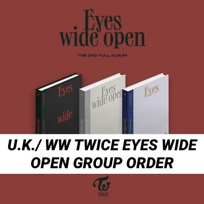 Kpop Twice Official Eyes Wide Open UK/WW Album Group Order • 16.50£