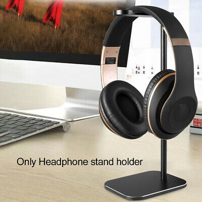AU25.48 • Buy Headphone Stand Holder Detachable Aluminum Alloy Hanger Universal For All Sizes