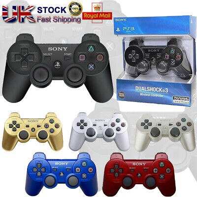 SONY PS3 Controller GamePad PlayStation 3 DualShock 3 Wireless SixAxis Hot PS3 • 14.89£