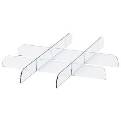 *New* KOMPLEMENT Divider For Pull-out Tray Transparent 50x58cm IKEA • 17.99£