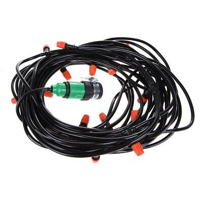 Automatic Watering Garden Hose Micro Drip Irrigation System Kit With Nozzle • 6.68£