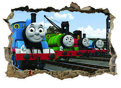 Thomas The Tank Engine,Sticker,Decal,Kids,Bedroom,3d,Trains,Wall Art,Mural • 3.99£