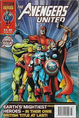 The Avengers United # 1 - Earth's Mightiest Heroes - Panini Collectors' Ed [r] • 5.99£