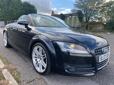 2007 Audi TT 2.0 TFSI Convertible Black With Red Leather Big Spec P/x Swap • 4,500£