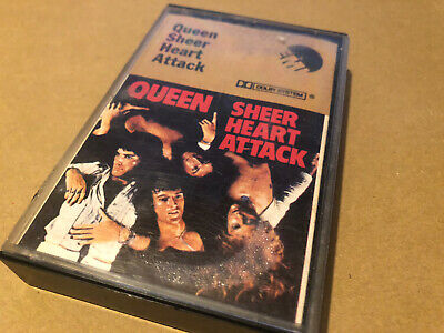 Queen Sheer Heart Attack Cassette Album Excellent • 4.25£