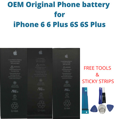 AU29.59 • Buy OEM Original Battery For IPhone 6 6 Plus 6S 6S Plus Genuine Replacement Battery