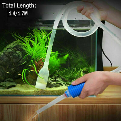 AU9.79 • Buy Aquarium Fish Tank Vacuum Gravel Cleaner Water Syphon Siphon Pump Filter AU