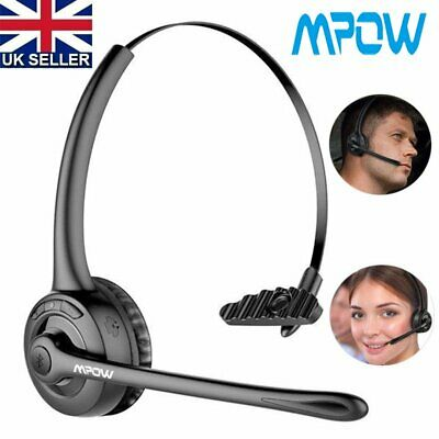 Slim Light Weight Stereo Headset Headphones With Microphone For PC Laptop Skype • 18.49£