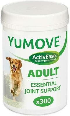 YuMOVE Dog,Essential Hip And Joint Supplement For Stiff Dogs Aged 7+, 300Tablets • 42.93£