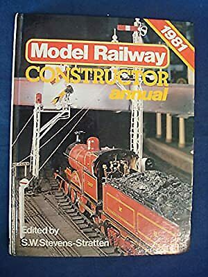 Model Railway Constructor  Annual 1981, , Used; Good Book • 4.90£