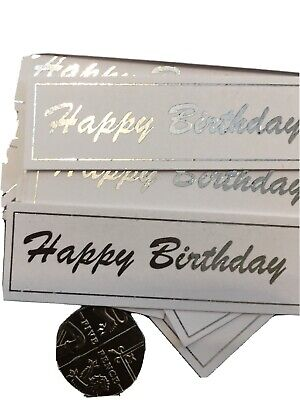 Happy Birthday X 20  Banners/embellishments/captions/toppers Card Making • 2.49£