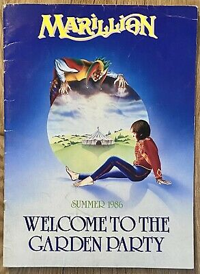 £19.95 • Buy Marillion: Welcome To The Garden Party Summer 1986 Tour Programme (Free UK Post)
