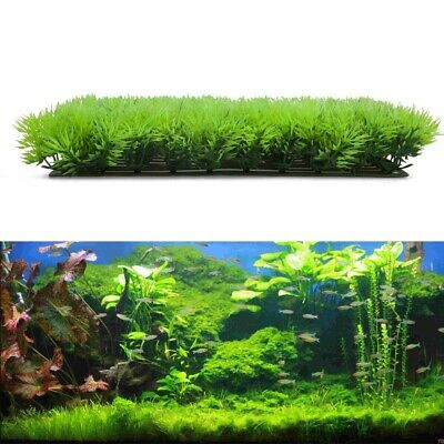 Artificial Fake Water Aquatic Green Grass Plant Lawn Aquarium Landscape  • 6.14£