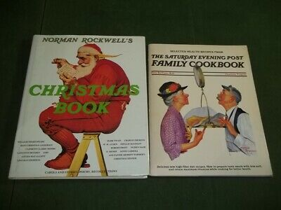 $ CDN19.45 • Buy Norman Rockwell's Christmas Book Saturday Evening Post Family Cookbook