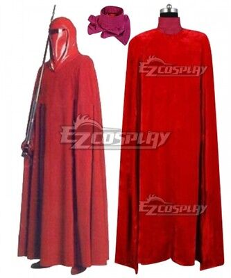 £50.98 • Buy Star Wars Red Royal Guard Cosplay Costume