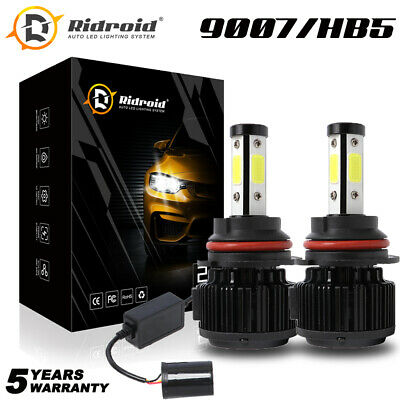 $22.99 • Buy Pair 9007 HB5 LED Headlight Bulbs High Low Beam For Dodge Ram 1500 2002-2005
