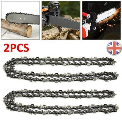 2Pcs 20inch 76 Drive Links Chainsaw Saw Chain Parts Tool  Chainsaw Blade New • 8.79£