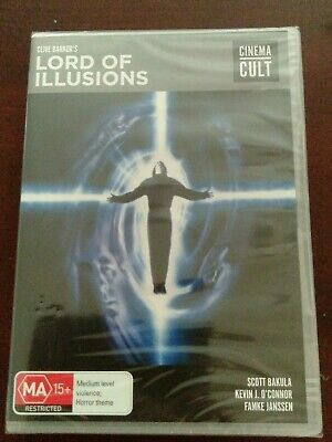 New Sealed Lord Of Illusions (Reg 4) DVD Clive Barker Lords Hellraiser HTF  • 10.88£