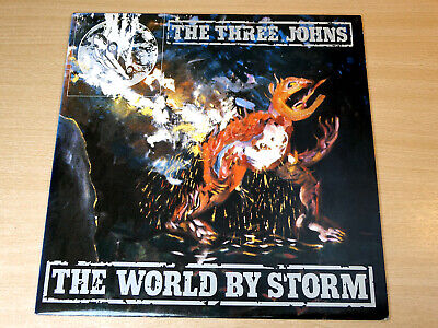 EX/EX !! The Three Johns/World By Storm/1986 Abstract LP • 7.99£
