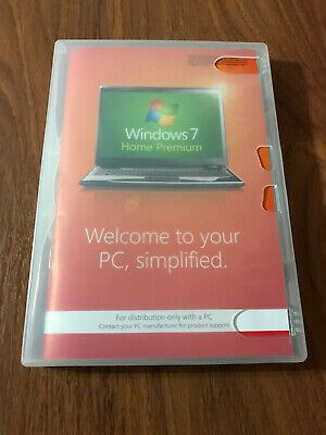 Windows 7 Home Premium 64 Bit - Official DVD Only, No Key; See Listing; Freepost • 14.99£