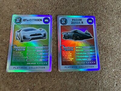 Top Gear Platinum Collection, 2 X Super Rare • 4£