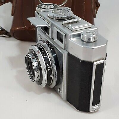 $ CDN86.39 • Buy Vintage ZEISS IKON Contina Prontor-SVS 35 Mm Camera With Leather Case