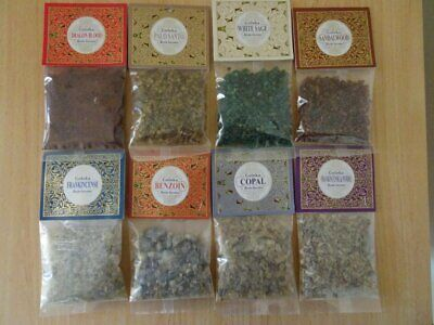 AU7.45 • Buy Goloka Assorted Resin Incense ~ You Choose  ~ 30 Grams Packets~ Resin Incense