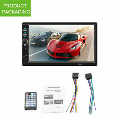 AU66.02 • Buy 7   Double 2 DIN Head Unit Car Stereo MP5 Player Touch Screen Bluetooth FM/AUX