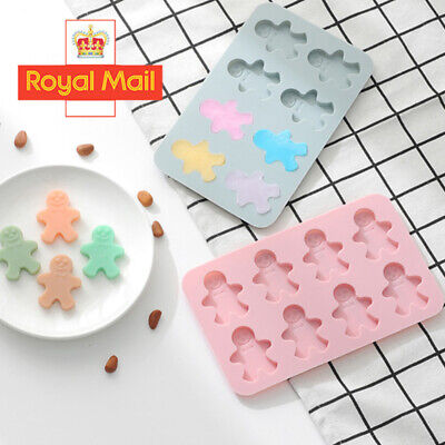 Christmas Cake Jelly Cookies Soap Mold Chocolate Baking Mould Tray Wax Ice Cube • 3.99£