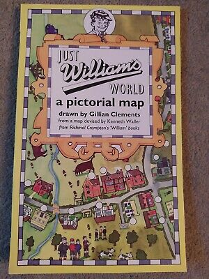 Just William's (Richmal Crompton) World - Pictorial Map • 15£
