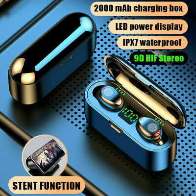 TWS Wireless Bluetooth Headphones Earphones Earbuds In-Ear Pods For IOS Android • 10.89£