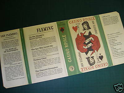 Casino Royale Reproduction Dust Jacket Ian Fleming  007 Great  Gift! James Bond • 2.99£