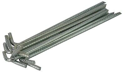 £26.69 • Buy Tent Pegs Heavy Duty Steel 300mm X 8mm Marquee Tarpaulin Awning Ground Stakes