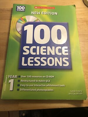 100 Science Lessons For Year 1 With CD Rom Carole Creary, Gay Wilson Free P&P • 3.99£