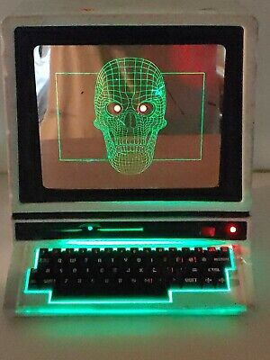 $ CDN28.64 • Buy Hyde And Eek Animated Motion Activated Haunted Computer Halloween Decoration