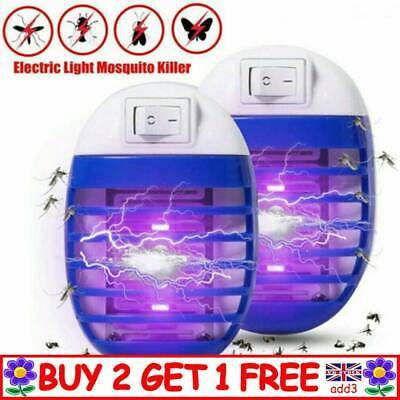 1x Electric UV Light Mosquito Killer Insect Fly Zapper Bug Trap Catcher Lamp TT • 3.99£