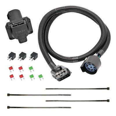 $ CDN70.60 • Buy Trailer Hitch Wiring Tow Harness 7-Way For Acadia Enclave & Traverse Part#118271