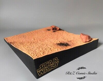 $ CDN353.24 • Buy Hot Toys Star Wars - 1/6th Scale Hand-Made Display Stand (Sand Version) Pre